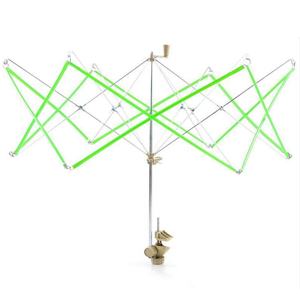 1 unid Umbrella Swift Hilados De Lana de Tejer Cuerdas Winder Holder Madejas Madejas Línea de Tejer Crochet Craft Tool Envío de La Gota