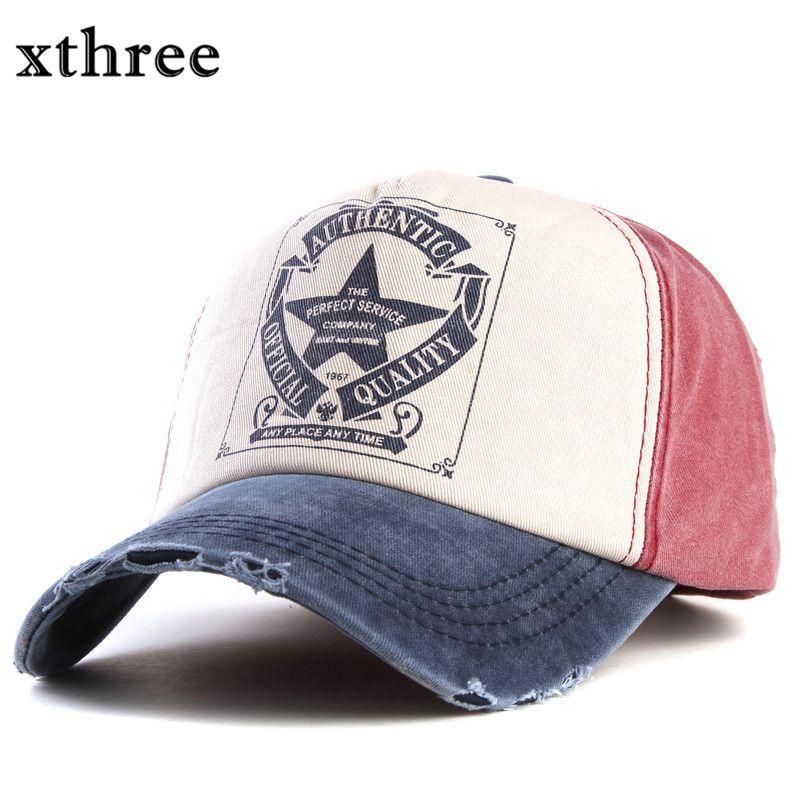 Xthree retro baseball cap frauen ausgestattet cap hysteresenhüte für männer hip hop beiläufige kappe billige hüte casquette gorras knochen