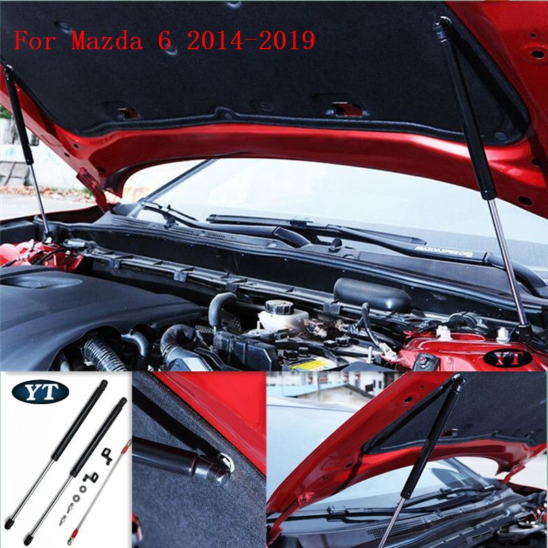 For Mazda 6 2014-2019 engine cover supporting rod hydraulic Hood support Poles