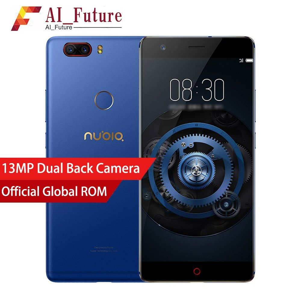 Global Nubia Z17 Lite Android 7.1 6GB RAM 64 ROM Mobile Phone Snapdragon 653 5.5 Inch Dual Rear Camera 4G LTE Smartphone