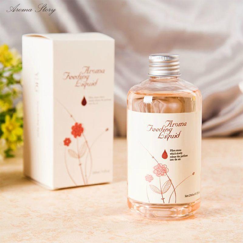 260 ml D'huile De Parfum À Domicile Régénérateur Rotin Reed Diffuseur Chambre Parfum Arôme Huile Essentielle Supplément Lavande Océan Lily, etc
