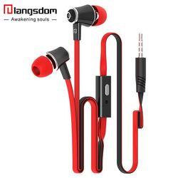 Officiel D'origine Langsdom JM21 In-Ear Écouteur Coloré Casque Hifi Écouteurs Basse Écouteurs de Haute Qualité écouteurs pour Téléphone