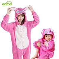 Пижамы с животными одна деталь одинаковые комплекты для семьи взрослых onesie мать и дочка одежда Тоторо динозавр костюм единорога для женщин