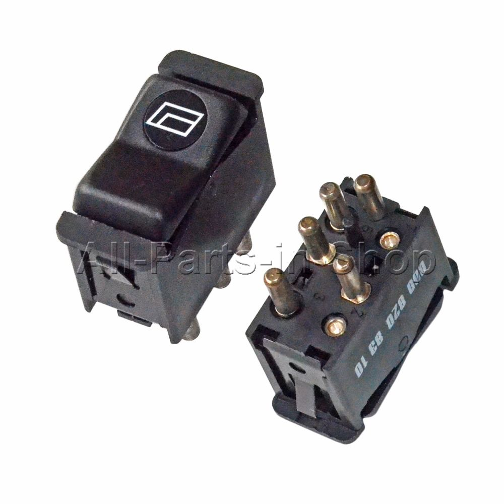 2 Pcs Window Switches For Mercedes-Benz C123 Coupe/S123 S124 Kombi/W126 C126 S-Class/W201 190/S124 W210 E-Class/SL R107/W123