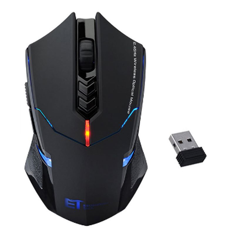 Professional Wireless Mouse 2000DPI Adjustable 7 Buttons Scroll Wheel 2.4G USB 2.0 Gaming Mouse for Computer PC Desktop <font><b>Laptop</b></font>