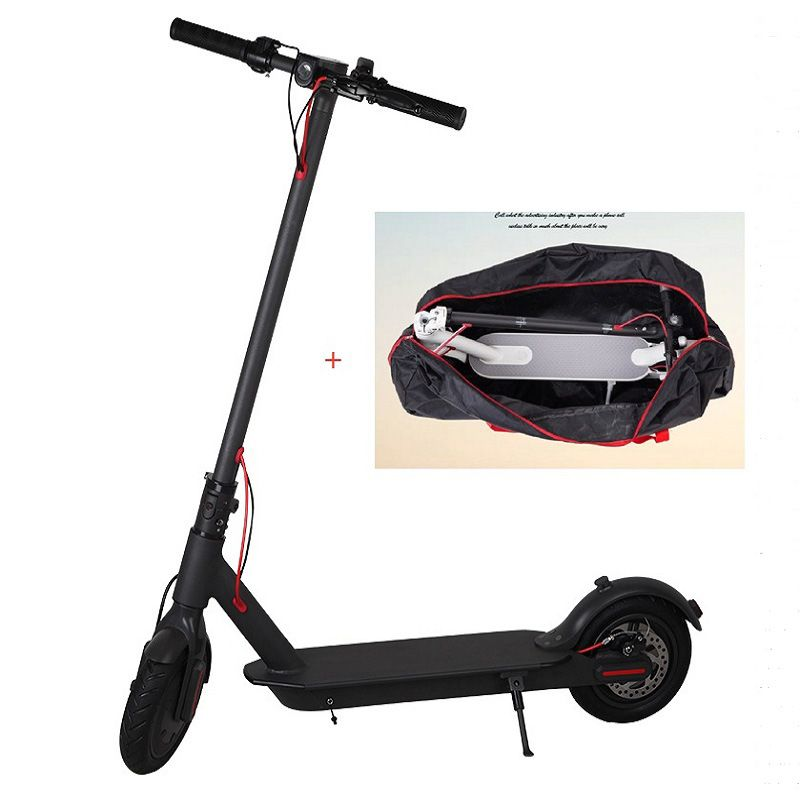 Moscow Stock Scooter Mini 2 Wheels Smart Electric Scooter Skate Board Adult Foldable Hoverboard 30km Life with Folding bag