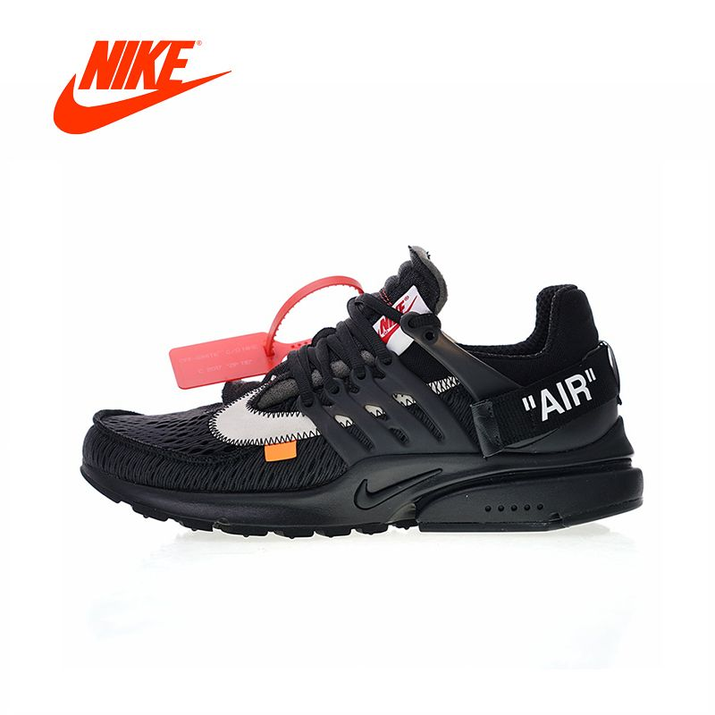 Original New Arrival Authentic Off White x Nike Air Presto 2.0 Men's Running Shoes Outdoor Sneakers Good Quality AA3830-002