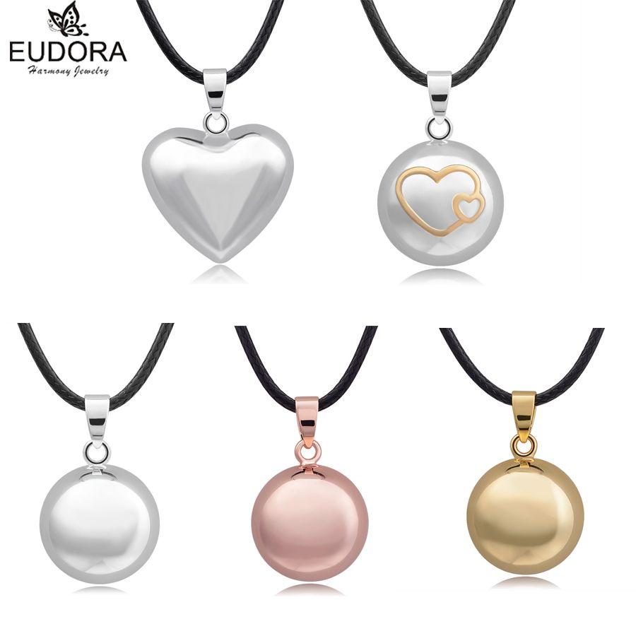 Eudora harmonie balle mélange Style ange appelant carillon son Bola boules pendentif collier pour femmes enceintes cadeau charme bijoux à bricoler soi-même