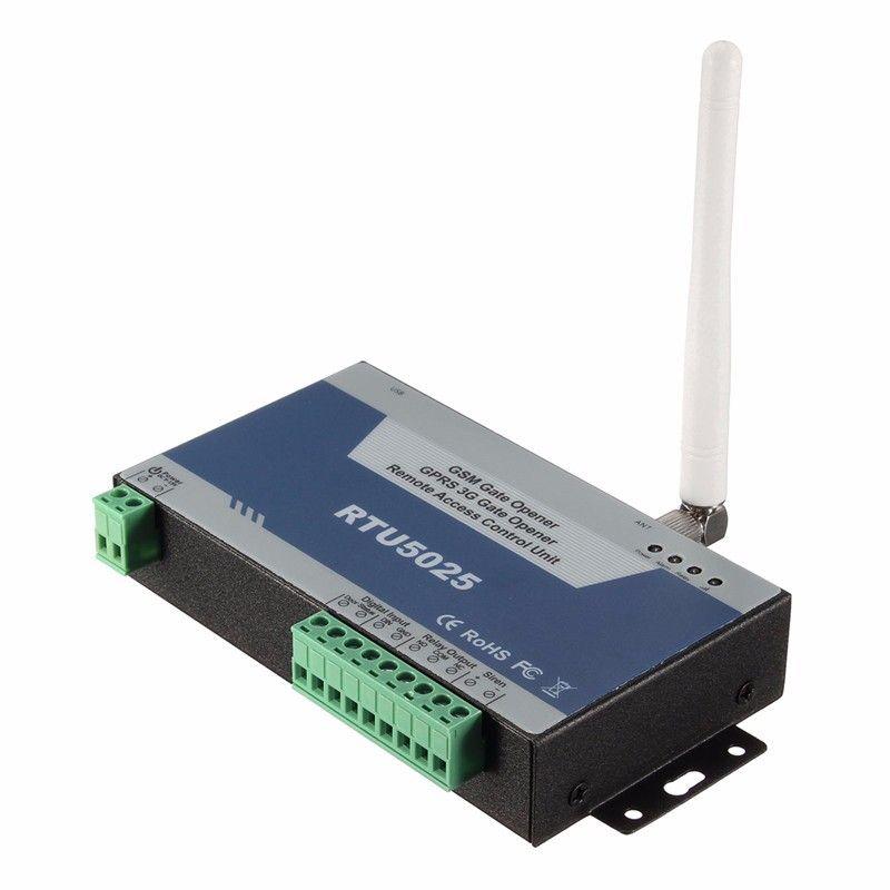 GSM Tor Öffner Türöffner (RTU5025) remote Access Control Unit 999 benutzer open Gate/Barriere/Shutter/Garage Tür
