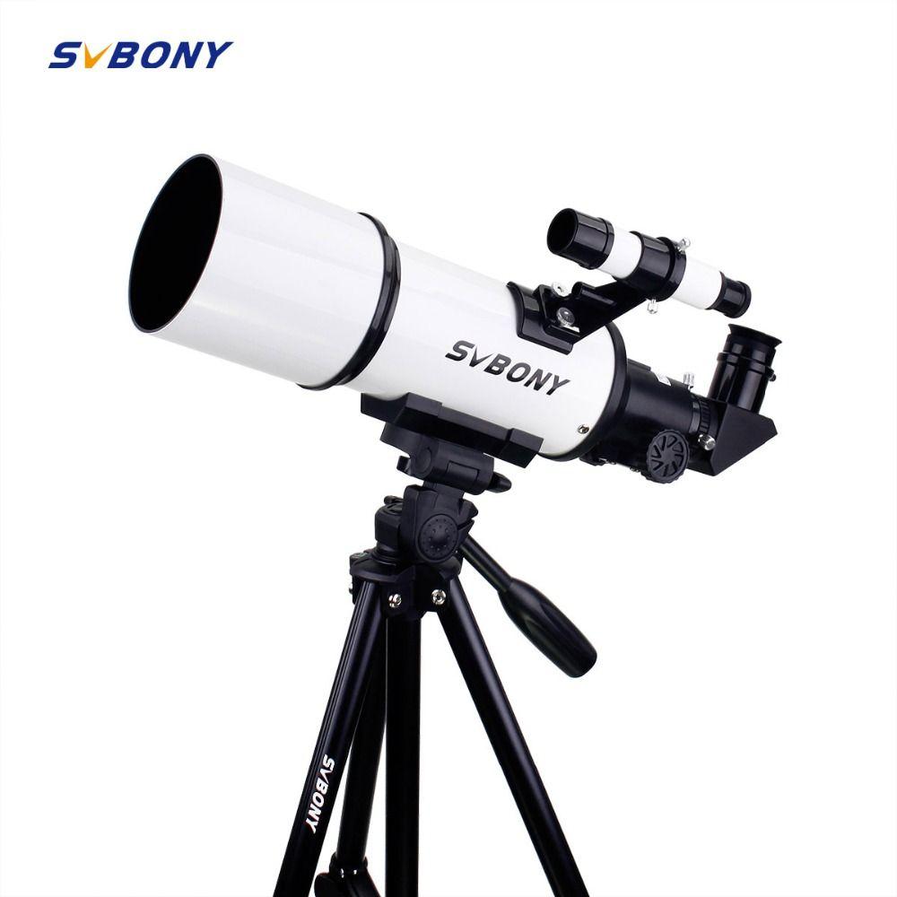 SVBONY SV20 Refractor Telescope 80mm Fully Coated Glass Optical 54