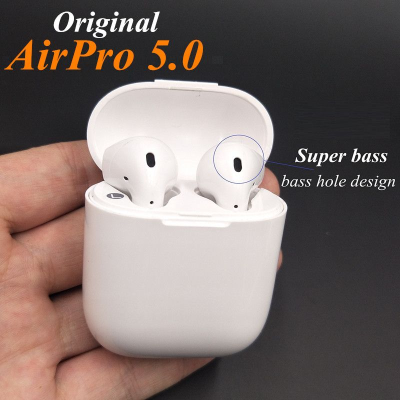 Wireless Earbuds Airpro Bluetooth true wireless Stereo In-Ear Earphone AirPro Ear Pods for Iphone 6/7/8 plus Apple Android