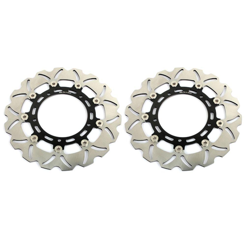 BIKINGBOY Vorderseite Bremsscheiben Discs Rotoren Für YAMAHA YZF R6 05-16 YZF R1 07-14 FZ8 800 /ABS 10 11 12 13 XTZ 1200 SUPER TENERE