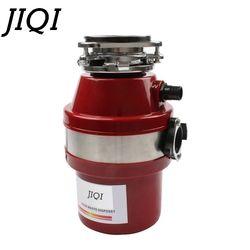 Jiqi Food Waste Disposer Sampah Prosesor Pembuangan Crusher Grinder Stainless Steel Sensitivitas Tinggi Kitchen Sink Alat 560W