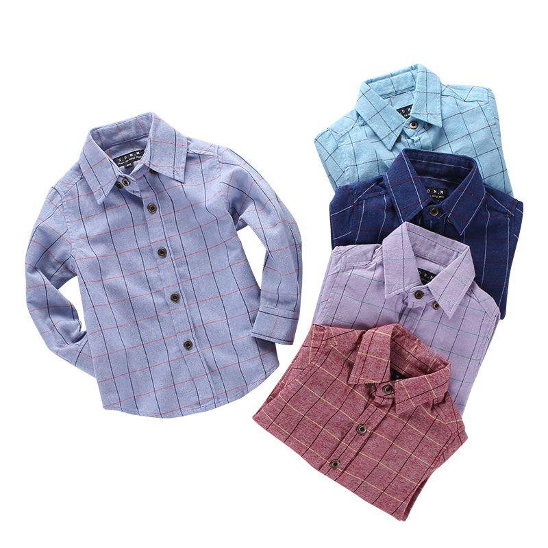 Рубашки для мальчиков для Обувь для мальчиков повседневная детская одежда Обувь для мальчиков Рубашки для мальчиков Демисезонный хлопок д...