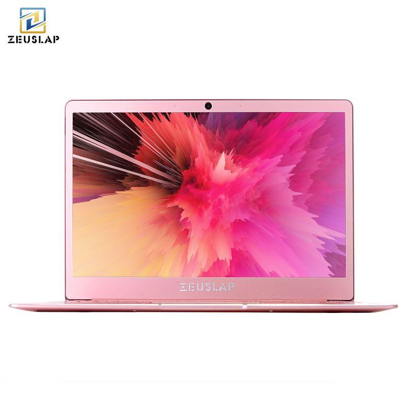 ZEUSLAP 8GB RAM+M.2 SSD 14inch 1920x1080P Full HD IPS Screen Intel Gemini Lake Quad Core CPU Win10 Laptop Notebook Computer