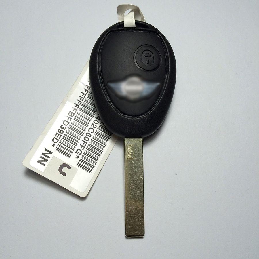Nouveau Uncut 2B À Distance Clé Pour BMW Mini Cooper S R50 R53 433 MHZ ID73 Puce Avec Code Livraison Gratuite