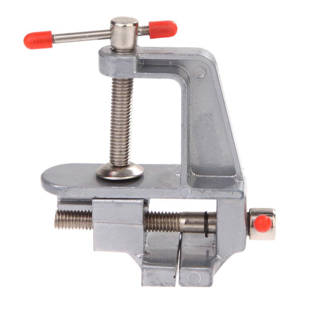 Beruf Schraubstock 3,5 Aluminium Miniatur Kleine Jewelers Hobby Bank Tischklemme Holzbearbeitung Schraubstock Werkzeug