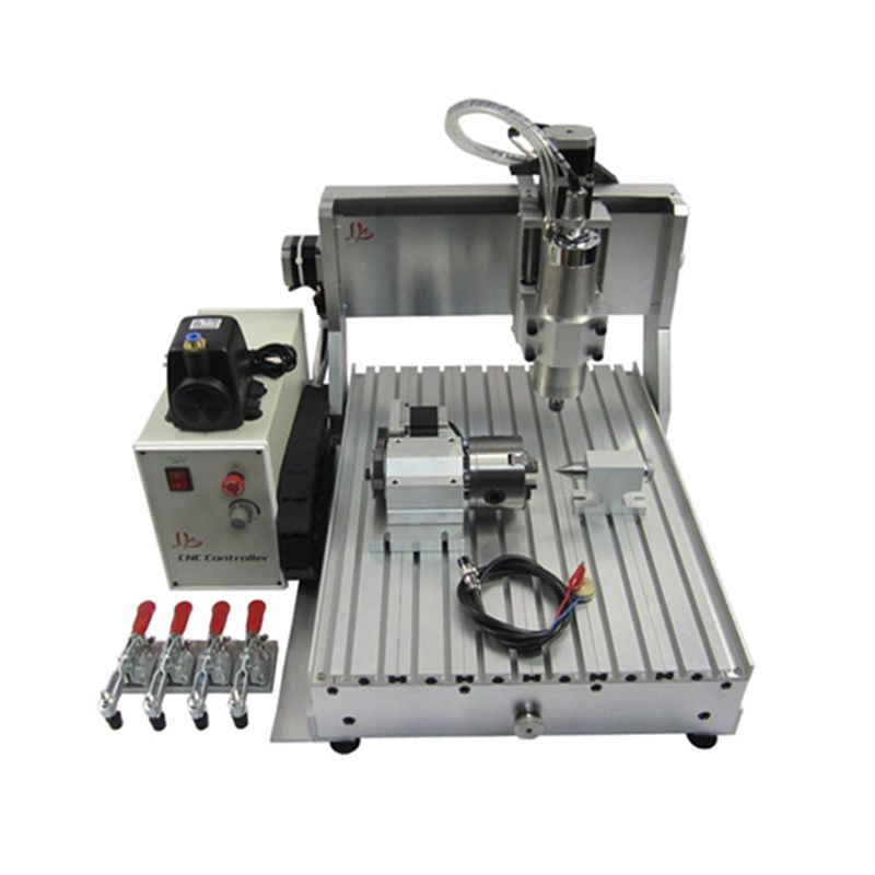 USB Parallel port CNC 3040 1500W 4 axis CNC Engraving Machine CNC Router With water cooling system