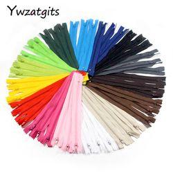 Ywzatgits 20 cm Longueur Coloré Nylon Coil Fermetures Sur Mesure Vêtement À Coudre Artisanat BRICOLAGE Accessoires Matériel 6 pcs/15 pcs 089055