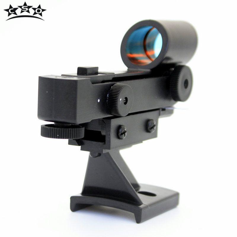 CSO viseur à points rouges pour Celestron 80EQ télescope astronomique optique monoculaire détecteur Standard Bases de données accessoires