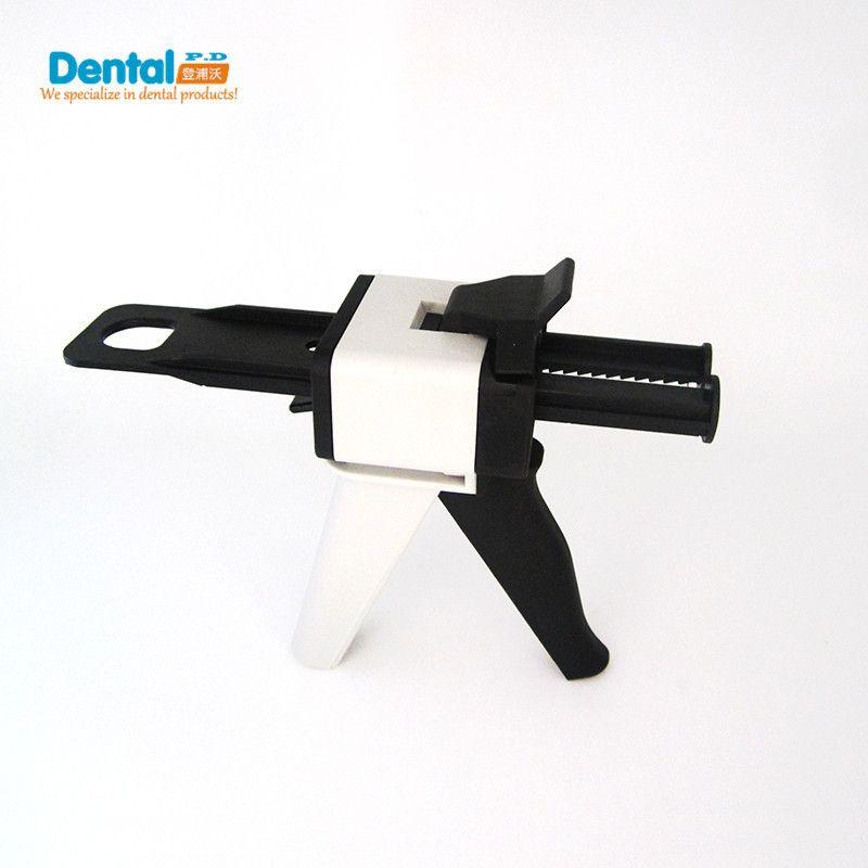 Новый стоматологического оборудования силиконовая резина Впечатление Смешивание Диспенсер пистолет AB Gun 1:1 и 1:2 чеканка 50 мл стоматолог про...