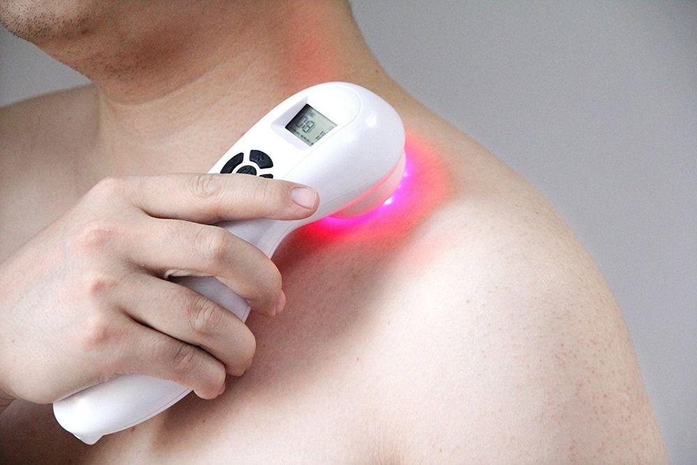 handheld low level laser therapy device physiotherapy equipment lllt for body pain relieve laser light treatment Rechargeable CE