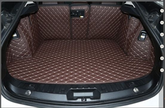 Good quality! Full set car trunk mats for BMW 5 Series GT F07 2016-2010 waterproof boot carpets cargo liner mats,Free shipping