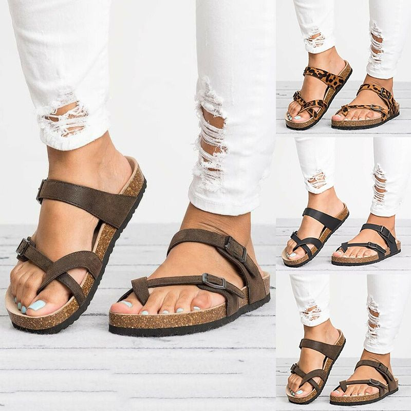 Indoor Outdoor on Slippers Female Platform Shoes Orthopedic Bunion Shoes Concise Casual Beach Flat with Women Shoes