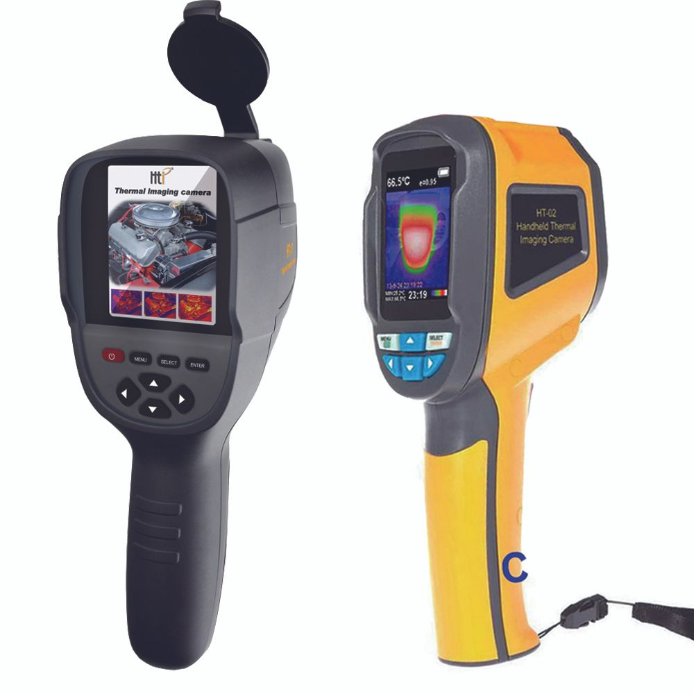 XINTEST Handheld thermal camera thermal imager IR infrared thermometer temperature thermal imaging tool HT-02 HT-02D HT-18