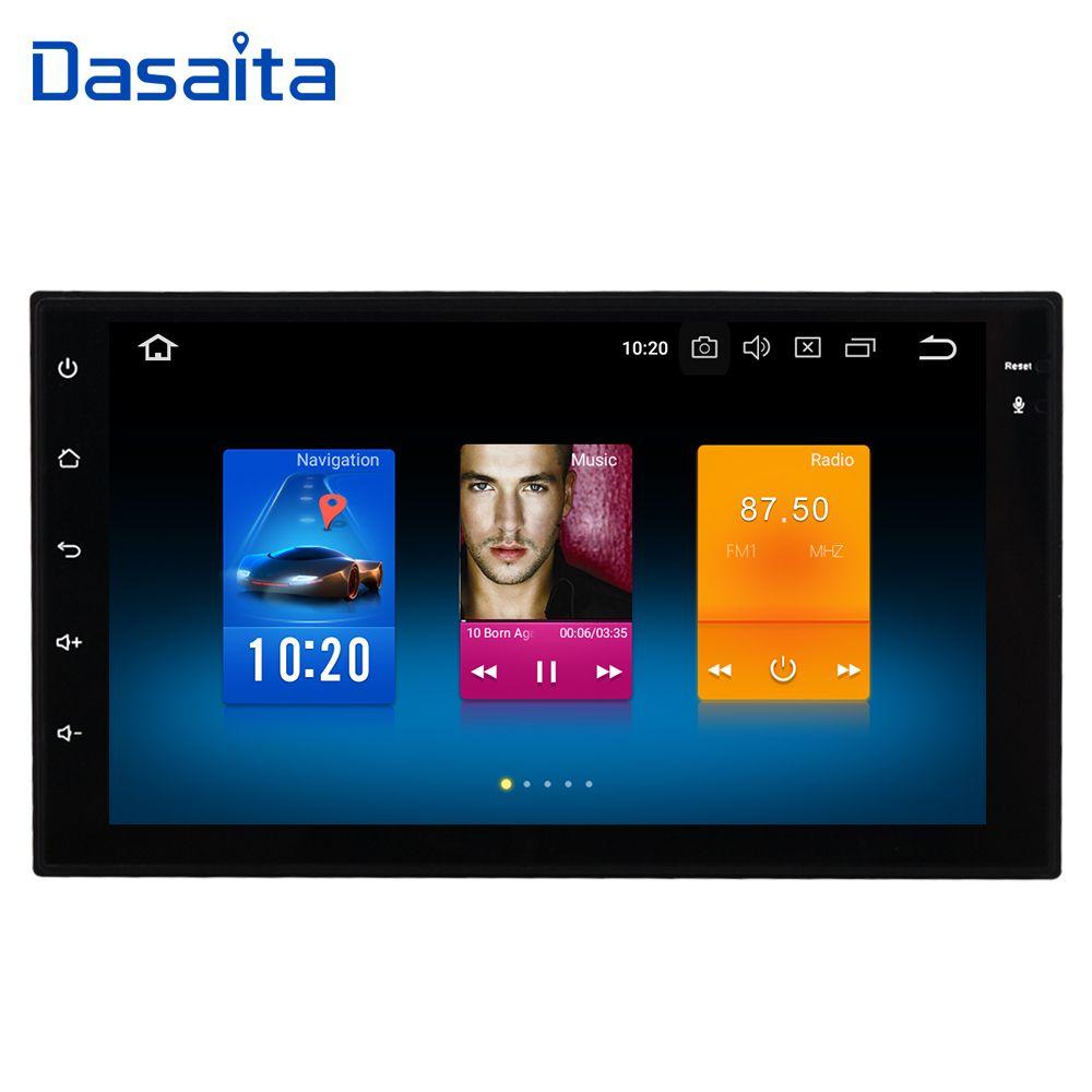 Dasaita 7 Android 8.0 Auto GPS Radio Player für Zwei Din Universal mit Octa Core 4 gb + 32 gb auto Stereo Video Navi Multimedia