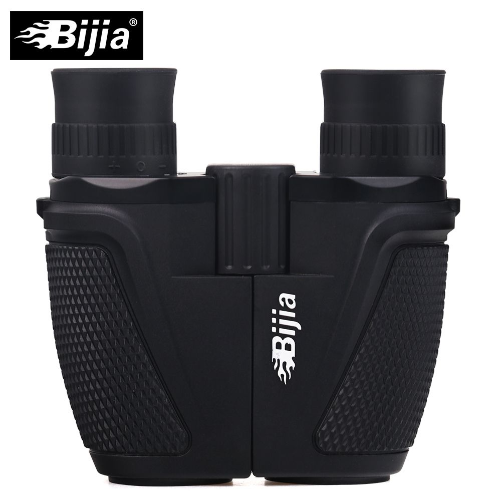 BIJIA 12x25 BAK4 Prism Porro Binocular Professional Portable Binoculars Telescope For Hunting Sports Living Waterproof
