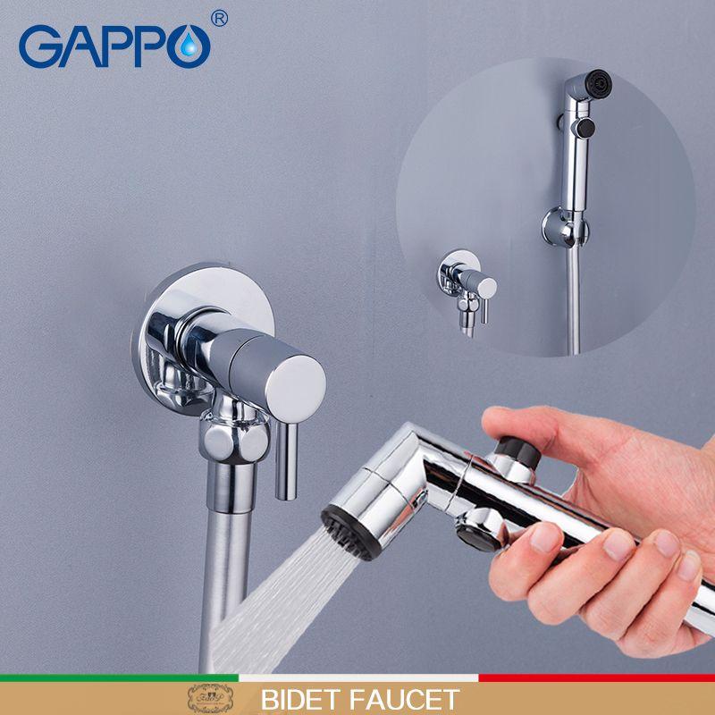 GAPPO Bidets musulman toilettes mélangeur Robinets bidet Portable robinet Bidet Toilettes pulvérisateur bidet mélangeur mural toilettes Rondelle