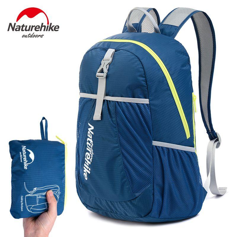 NatureHike Backpack Sport Men Travel Backpack Women Backpack Ultralight Outdoor Leisure School Backpacks Bags 22L 5 Colors