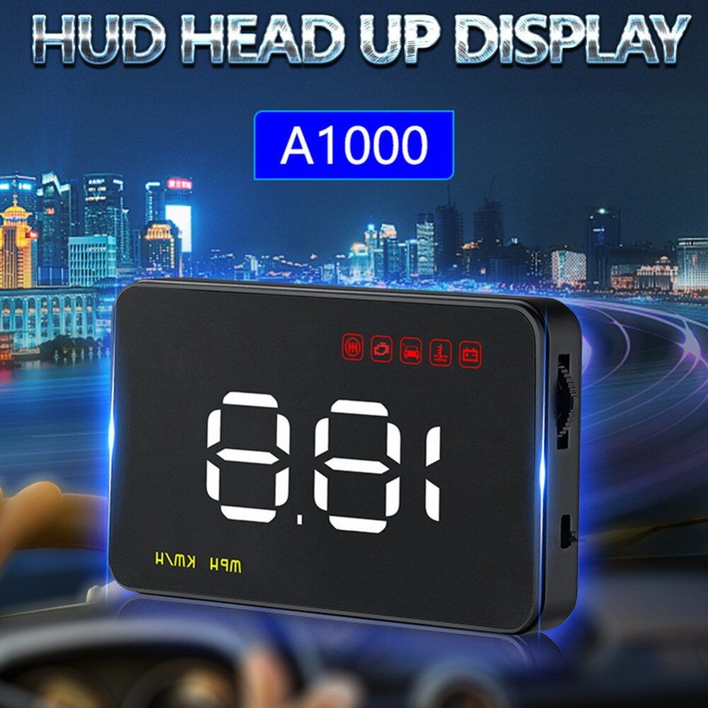 Car Auto HUD Head Up Display Windshield Projector A100