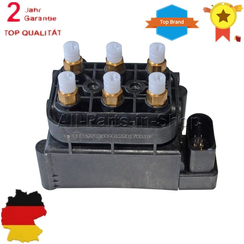 New Valve Block Air Suspension Air Supply For Audi Allroad A6(C6) A8(D3) S8(D3) 4Z7616013 4F0616013