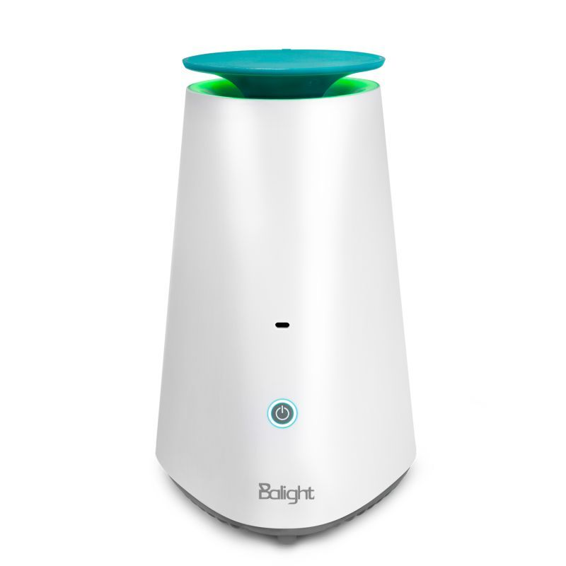 Hot Desktop Air Purifier Low Noise Aromatherapy With Breathing Light Living Room Decoration