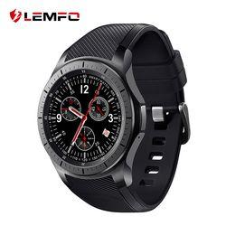 LEMFO LF16 Montre Smart Watch Téléphone Android Smartwatch Bluetooth WIFI GPS 3G Smartwatch Hommes Dispositifs Portables Montre-Bracelet
