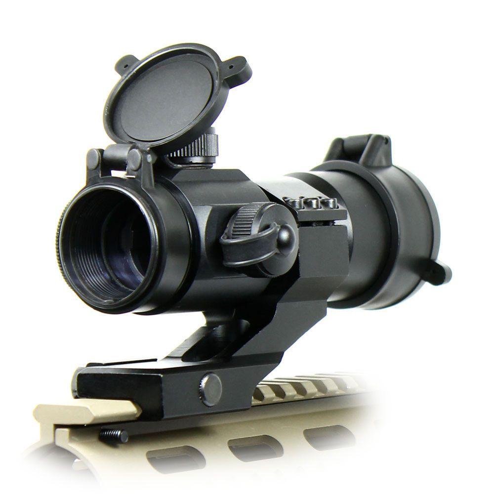 Red Dot Sight Scopes Tactical 4 MOA Airsoft Illuminated Rifle Scope Reflex Stinger Optical Sight 20mm Mount Hunting Chasse Caza