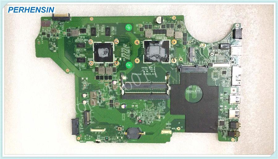 For MSI GE62 GE72 MS-17931 MS-1793 Laptop MOTHERBOARD MS-16J31 MS-16J3 SR2BP I7-5700HQ REV 1.0 100% WORK PERFECTLY