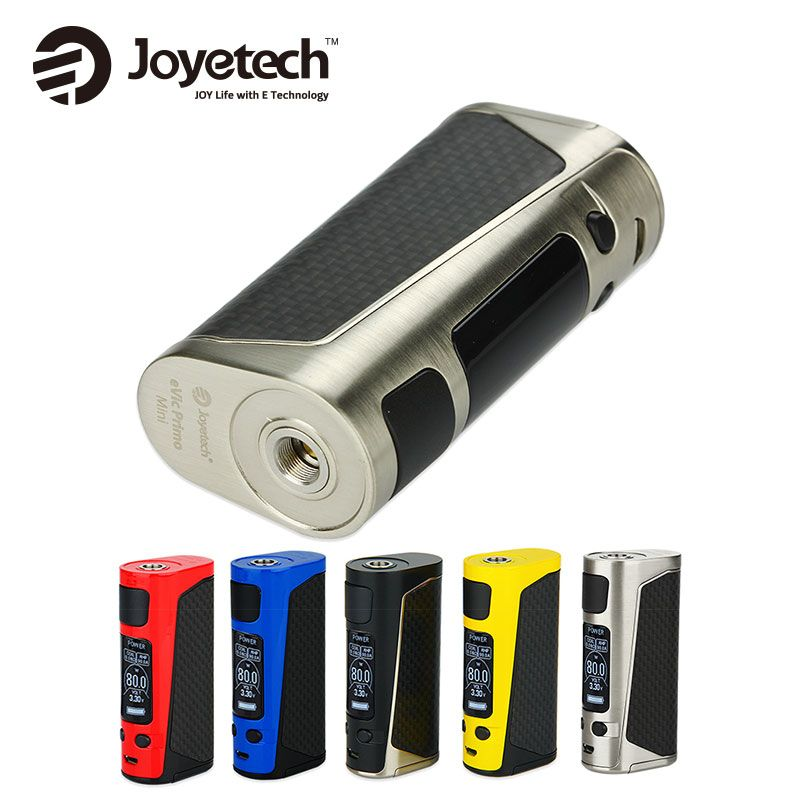 Original 80W Joyetech eVic Primo Mini Mod Support Power/Bypass/<font><b>Start</b></font>/Temp/TCR Modes Fit for ProCore Aries Atomizer vs Alien 220w