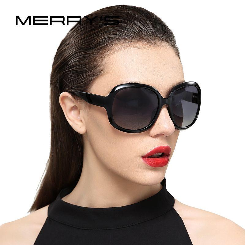 MERRY'S DESIGN Women Retro Polarized Sunglasses Lady Driving Sun Glasses 100% UV Protection S'6036