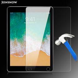 Vidrio templado para el iPad 2017 9,7 pulgadas/iPad 2018 9,7 pulgadas prevenir Scratch Tablet Screen Protector HD Protector de pantalla JONSNOW