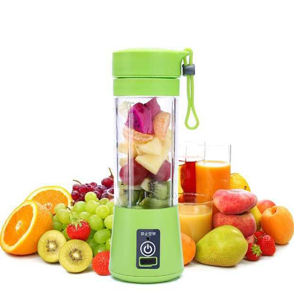380ml Portable Juicer Cup USB Rechargeable Juice Bottle Citrus Blender Lemon Vegetables Fruit Milkshake Smoothie Squeezers