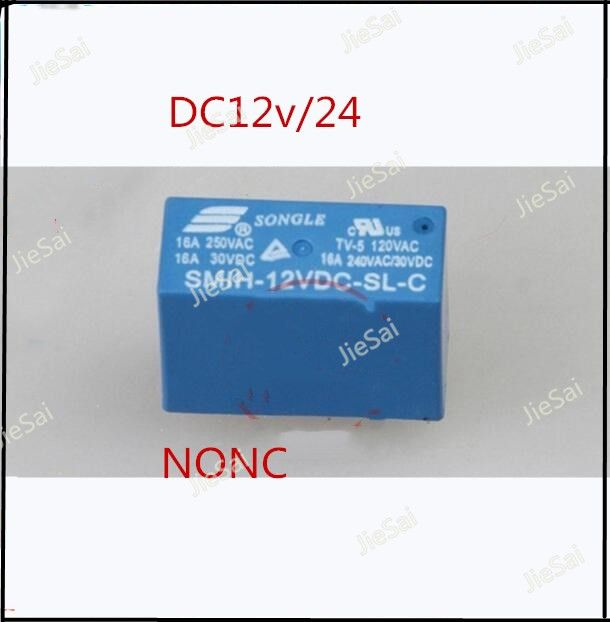 car relay dc Automotive relays 40A  SLB-12v/24VDC-SL-A 6PIN A set of conversions