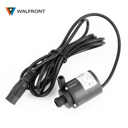 DC 6V 12V Micro Brushless Submersible Motor Water Pump F Solar Cooling 200L/H Electric Water Circulation Pump for Aquarium Pond