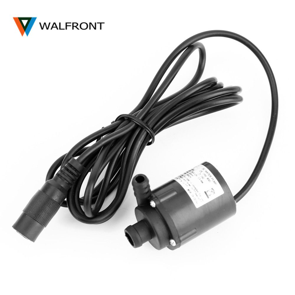 DC 6V 12V Micro Brushless Submersible Motor Water Pump F Solar Cooling 200L/H ElectricWater Circulation Pump for Aquarium Pond