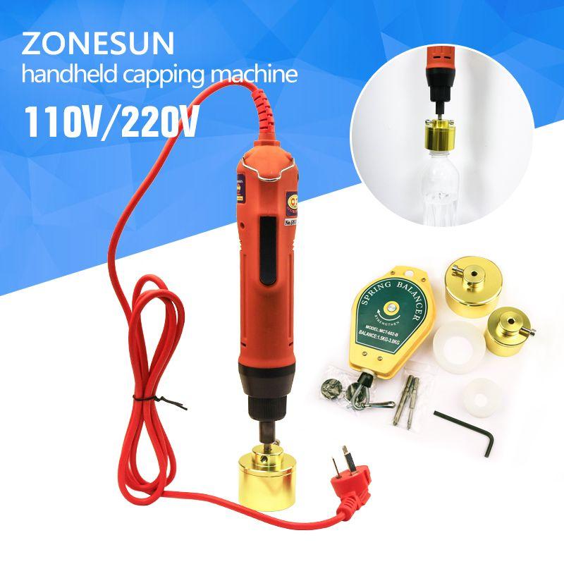 100% Warranty SG-1550 Portable automatic electric bottle capping machine, Cap screwing Machine, electric cap sealing machine