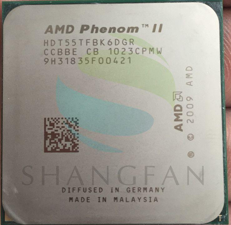 AMD Phenom X6 1055T X6-1055T 2.8GHz Six-Core CPU Processor HDT55TFBK6DGR 125W Socket AM3 938pin