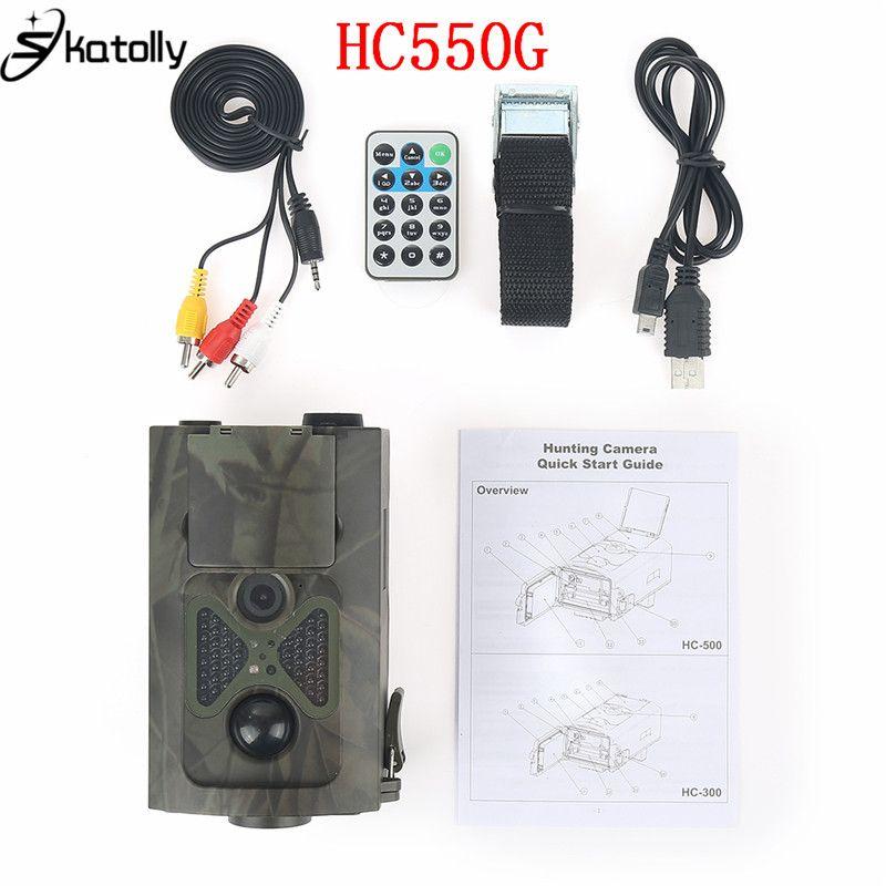 Skatoll HC550G 16MP Infrared Hunting Cameras Forest 3G Wildlife Surveillance 3G GPRS Game Cameras SMS GPRS Jakt Kamera HC550G