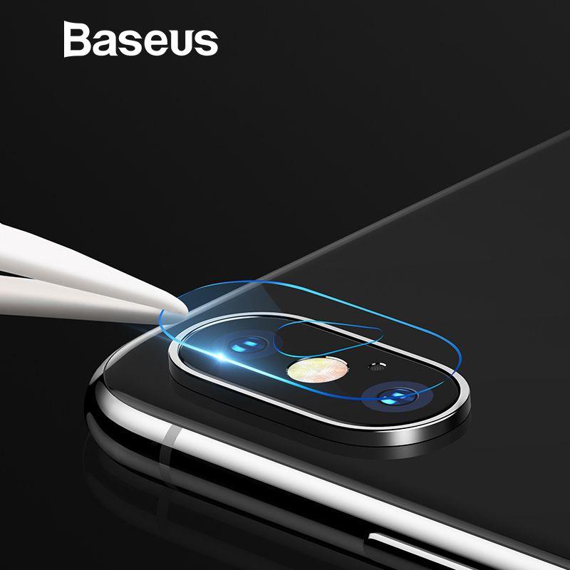 Baseus Zurück Kamera Objektiv Gehärtetem Glas Für iPhone Xs Xs Max Kamera Objektiv Schutz Glas Film Für iPhone Xs Xs max 2018 9 H Glas